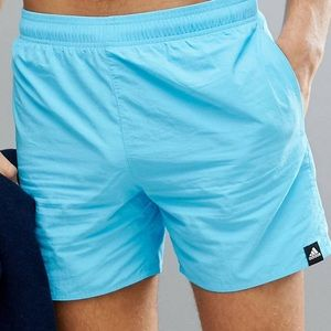 Performance Swim shorts in blue by adidas